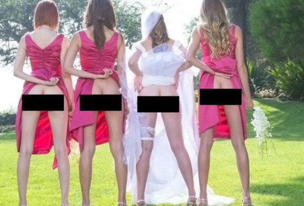 Bridal parties continue to keep it classy vocativ