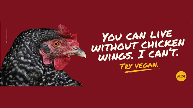 Chicken Wings PETA Ads