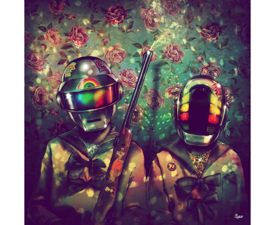 This Is What a Daft Punk Art Show Looks Like