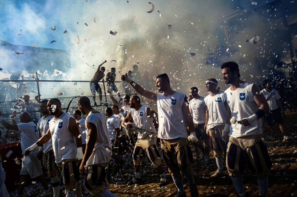The Modern-Day Gladiators of Calcio Storico Fiorentino