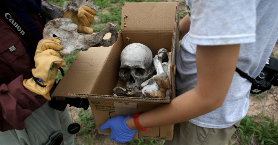 Mass Migrant Graves Discovered in Texas