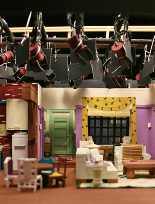 These Miniature TV Show Sets Are Awesome