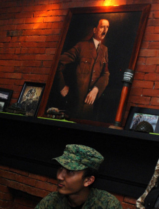 Nazi-Themed Coffee Shop Opens in Indonesia