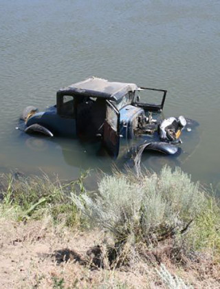 Not So Fast or Furious: Drunk Drifter Joyrides Antique Car Into River