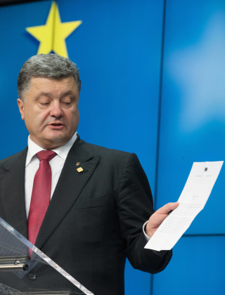 Ukraine Signs Agreement That Sparked a Revolution