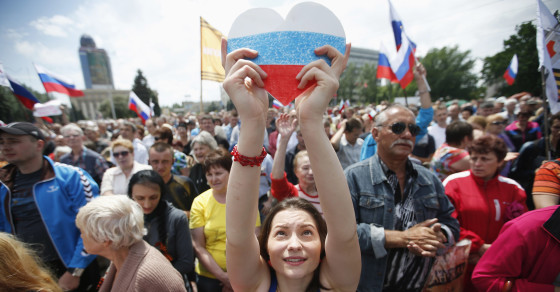 Ukrainian Insurgents Wage a PR War