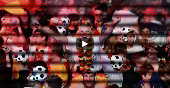 Berlin Goes Berserk When Germany Wins World Cup