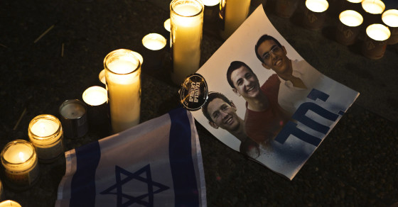 Egyptian Group Claims It Killed the Three Israeli Teens