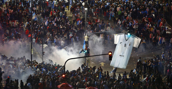 Fans Riot After Argentina's Devastating World Cup Loss