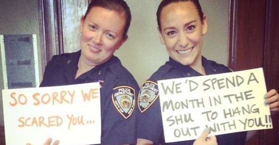 NYPD Tweets Apology Pic to Taylor Schilling After Freaking Her Out