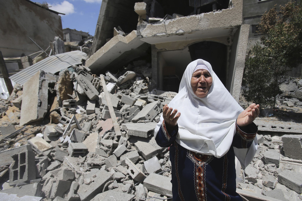 Gaza Under Fire as Israeli-Palestinian Conflict Rages On