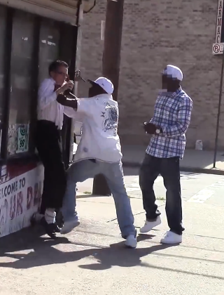 Brooklyn Brothers' Phone Stealing Prank in the Hood Backfires