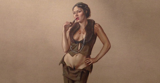 "Painting Pulled From Exhibition Because of ""Disgusting"" Pubic Hair"