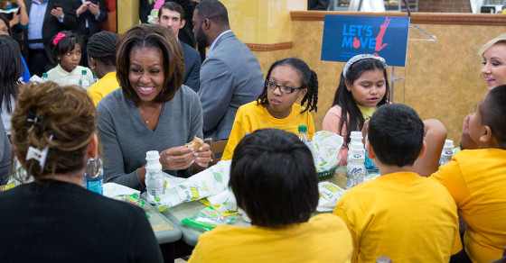 Junk Food Fight: Students Tee Off on Michelle Obama