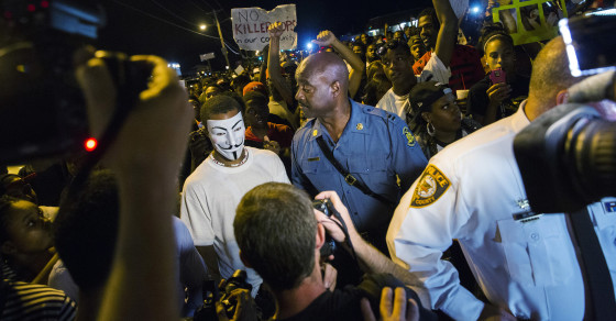 Common Sense Finally Kicks In on Ferguson Streets