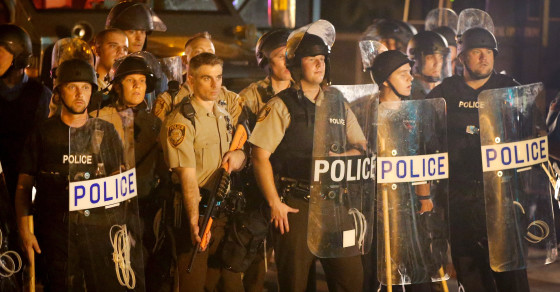 Armored Trucks Not Enough: Ferguson Cops Desperate for Gatorade