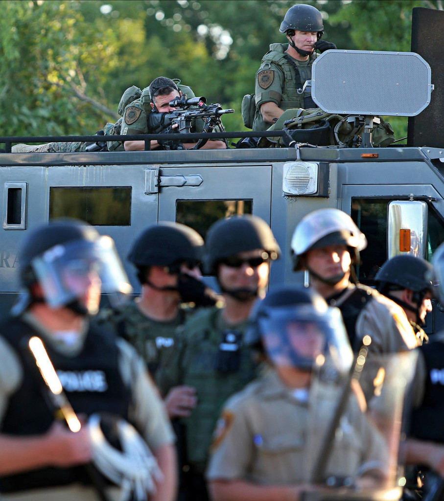 Ferguson, Missouri: War Zone, USA