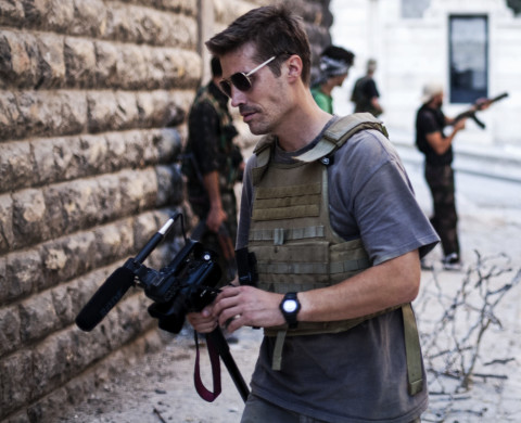 James Foley, Syria, 2012.
