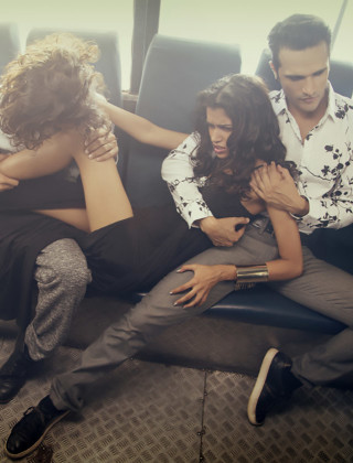 Indian Photographer Makes Gang Rape a Fashion Statement