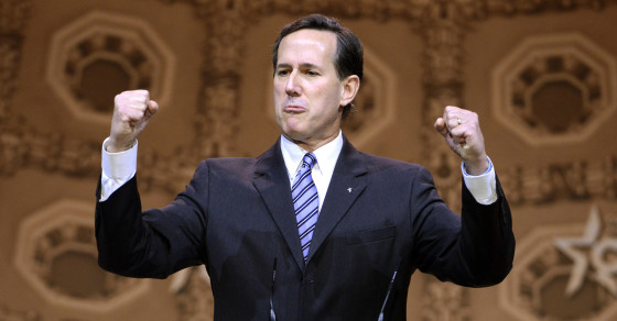 Right-Wing Firebrand Rick Santorum on His New God Doc