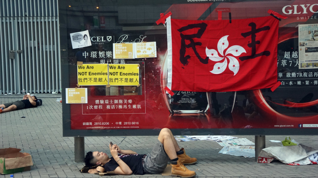 Behind the Barricades at Hong Kong's Democracy Protests