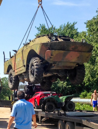 Chill Russian 20-Something Buys Tank, Plans Joyride to Crimea