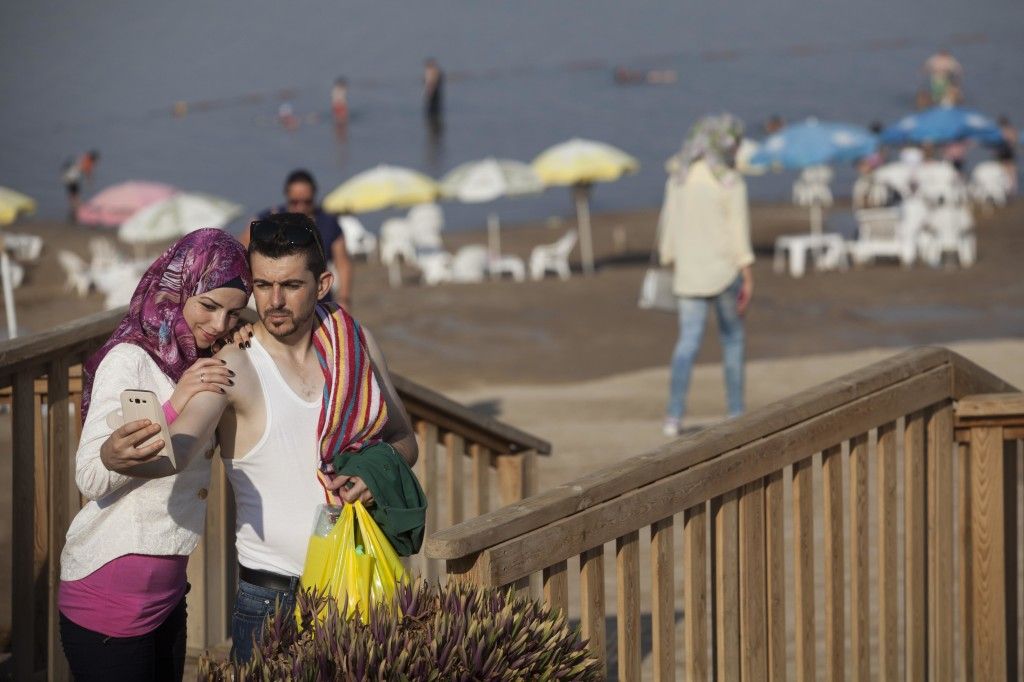 The Only Beach Where Israelis and Palestinians Tan Together