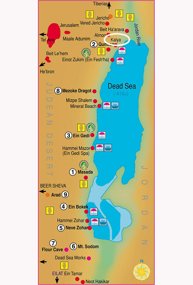 Kalia Beach_Map