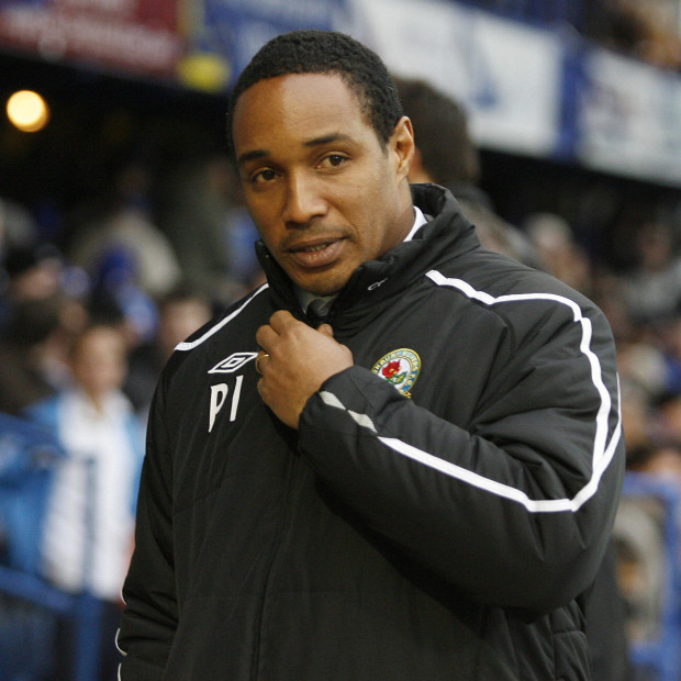 Manager of Blackburn Rovers Paul Ince looks on before kick off against Portsmouth during a Premier League football match at Fratton Park in Portsmouth on November 30, 2008. A