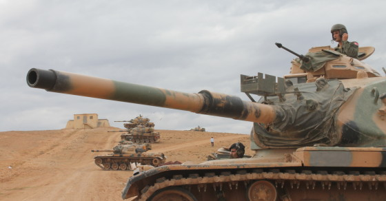 On the Front Lines in the War Against ISIS