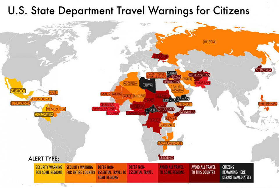 Ukraine State Department Travel Warnings
