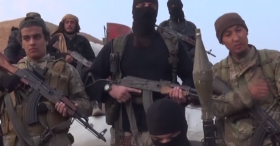 Before French Terror Spree, ISIS Video Called for Lone-Wolf Attacks