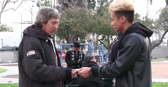Did Josh Paler Lin Stage His Viral Video About Helping the Homeless?