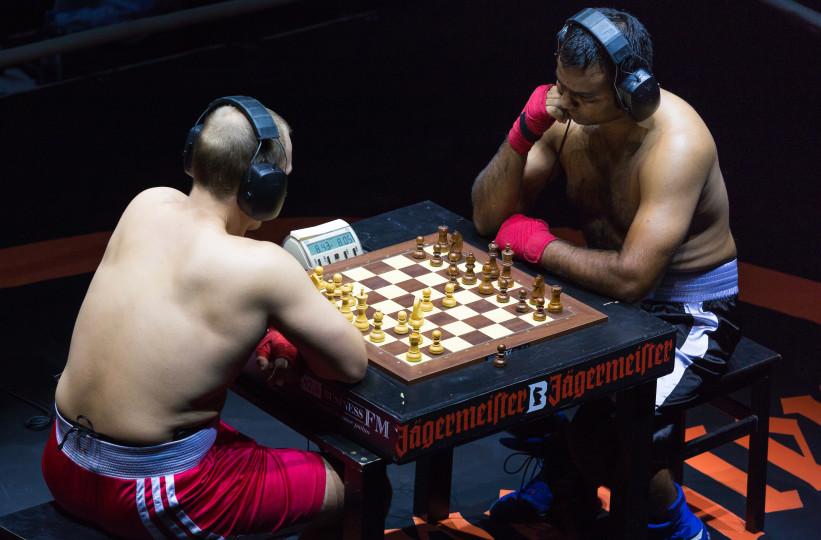 Chessboxing