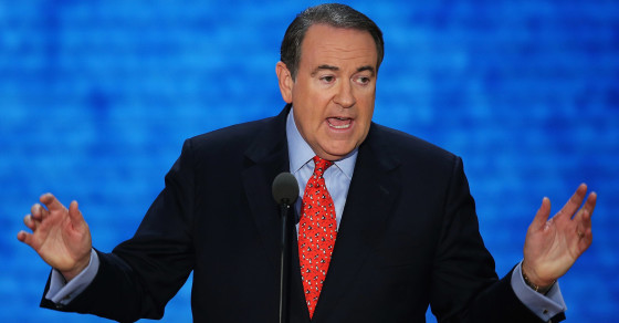 Why Mike Huckabee Is Like A Radical Muslim Cleric