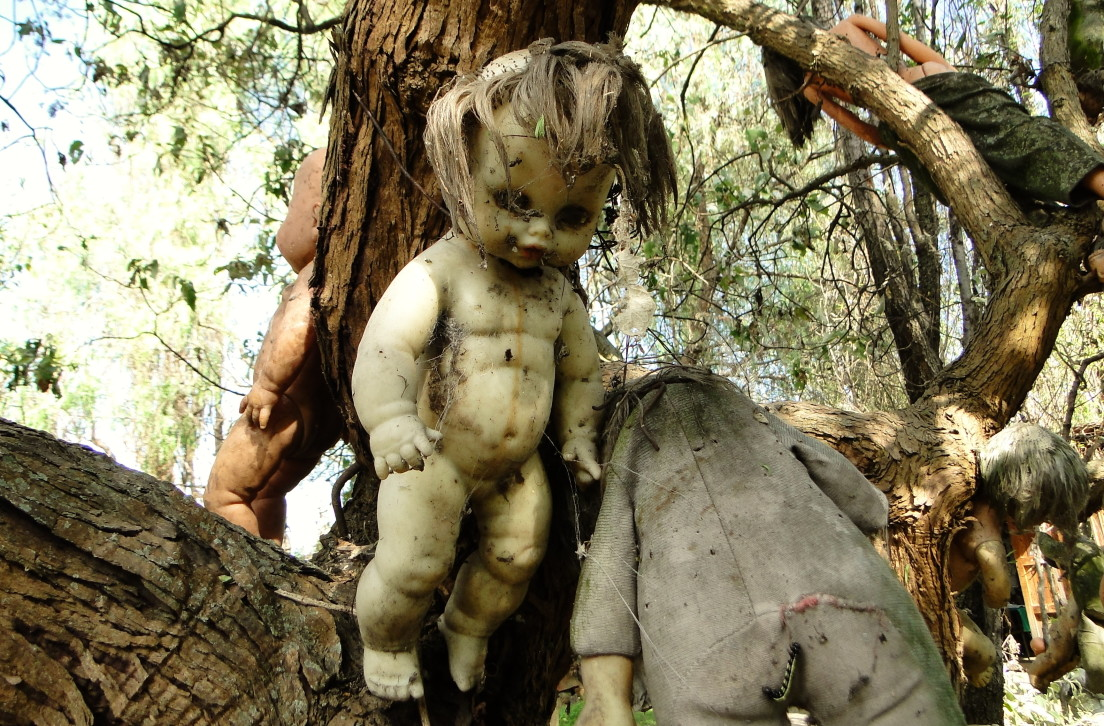 welcome to the island of the dolls the creepiest place in mexico