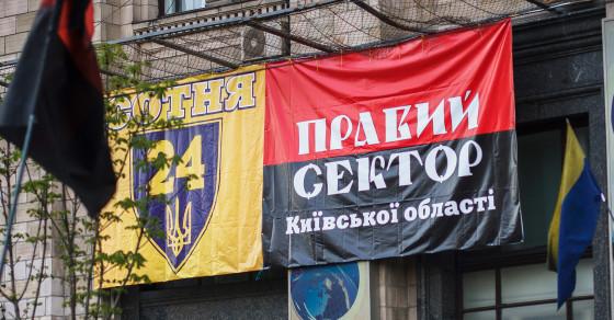 The Faces of Pravy Sektor in Ukraine