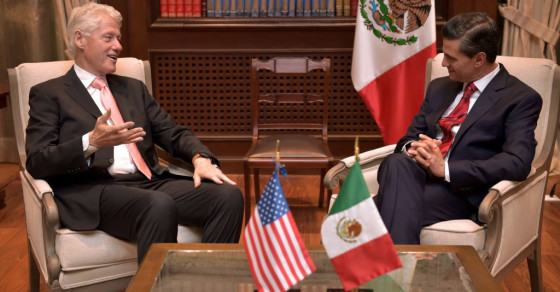 Bill Clinton Apologizes To Mexico For The Whole Drug War Thing