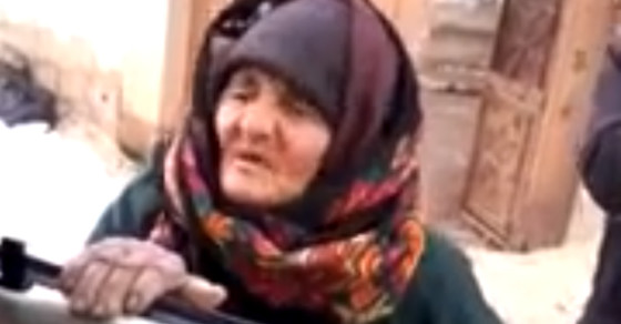 Watch An Old Lady School ISIS