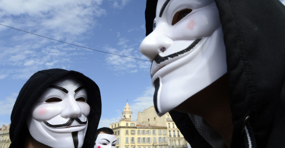 ISIS Has Anonymous In Its Crosshairs