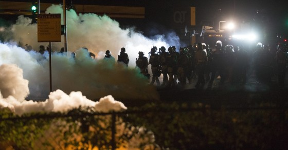 How The Ferguson Police Trampled On The US Constitution