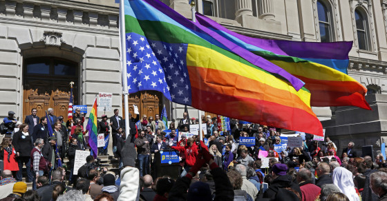 Indiana's Attitudes About Gay Rights Are Complex