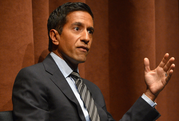 """NEW YORK, NY - AUGUST 06:  Dr. Sanjay Gupta attends the """"Weed: Dr. Sanjay Gupta Reports"""" screening at Time Warner Center on August 6, 2013 in New York City.  (Photo by Larry Busacca/Getty Images for Time Warner)"""