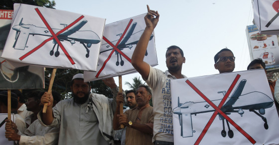 383 U.S. Drone Strikes In Pakistan Have Killed Thousands Of Civilians