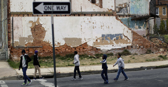 Baltimore Youths Have It Worse Than Those in Nigeria
