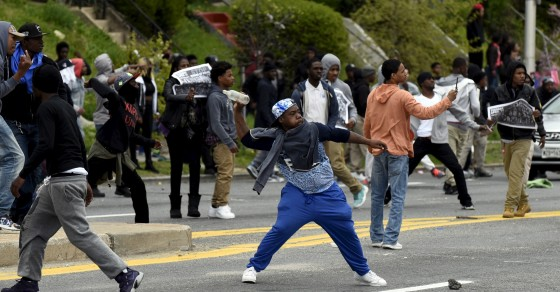 Baltimore Riot: Teachers Say Police Herded Students Into Chaos