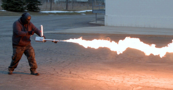 Coming Soon: Your Very Own Flamethrower For $699