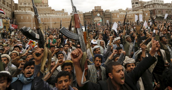Yemen Divided, Citizens Demonstrate For Both Sides