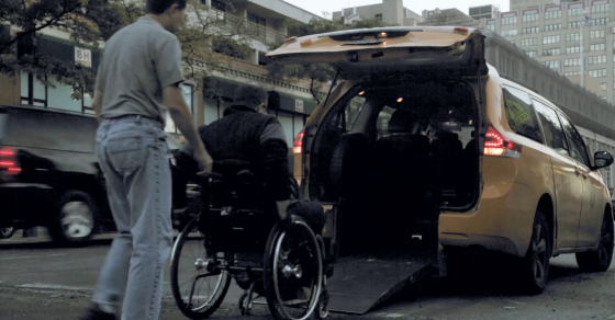 It's Hell On Wheels For This Handicapped New Yorker