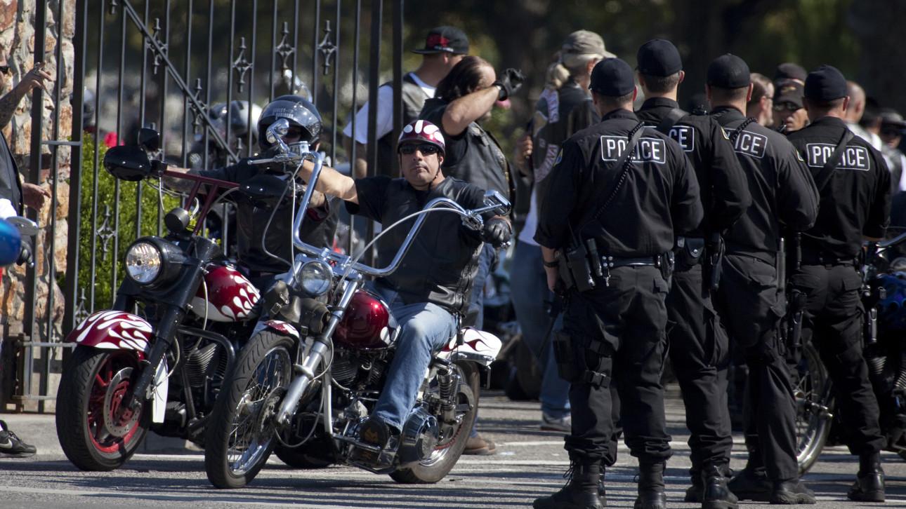 Road rage kills biker patches
